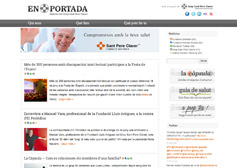 En Portada web de notícies del Grup Sant Pere Claver